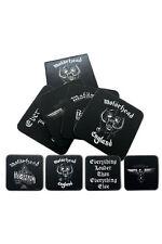 Official Motorhead - Logos - Boxed Cork Coaster Set