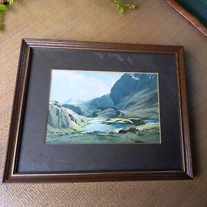 "Heaton Cooper Framed Print - Sprinkling Tarn 11"" x 9"""
