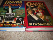 2 books Carter Beats The Devil D Gold & Hiding The Elephant J Steinmeyer