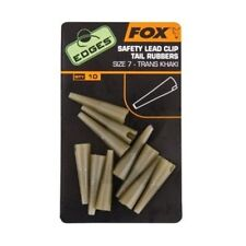 CAC478 Fox Safety Lead Clip Tail Rubber   n7 CONI X SAFETY CLIP CARP FISHING