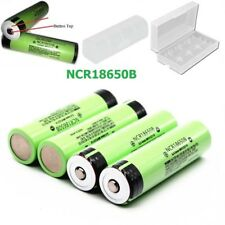For Door Bell Torch, PANASONIC 18650 3400mAh Button Top Battery With holder