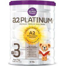 6 Cans of A2 Platinum Stage 3 Infant Formula Toddler Milk 1
