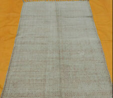 Hand Woven Cotton Rug Turkish Kilim Dhurrie Block Print Oriental Area Rug 4'X6'