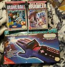 NEW! Vintage NES Nintendo MATTEL Power Glove Controller -W NICE BOX!2Games too!