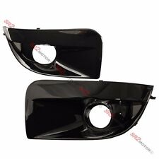 BLACK FOG LAMP LIGHTS BEZEL BUMPER COVER FITS FOR 04 05 SUBARU IMPREZA WRX STI