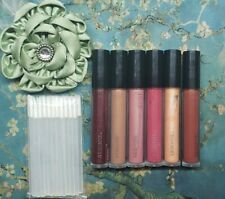 Arbonne Glossed Over Lip Gloss ♡Lot Of 6 Lip Gloss Testers♡ + Bonus Applicators☆