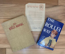 The Rollei Manual 1955 (with signed letter) AND The Rollei Way 1962