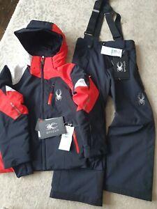 Boy's Spyder Ski Suit 7-8 Years NWT