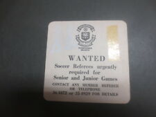 1 only CASTLEMAINE XXXX BREWERY./ Soccer,Issue collectable COASTER