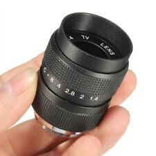 Television TV Lens/CCTV Lens for C Mount Camera 25mm F1.4 in Black V5T4