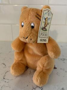 GUND INC. Classic Pooh Tigger Soft Winnie The Pooh Tiger Beanbag Plush