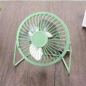360 rotatable USB rechargeable home office fan