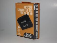 NuScope Converter Box for AV to HD for NES SNES N64 GC Wii PS1/2 Xbox/360 & More