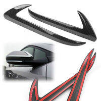 Rear View Side Wing Mirror Base Cover Trim Strip for Toyota C-HR 2016 2017 2018