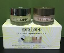 Sara Happ The Lip Scrub Pina Colada The Lip Slip 14g / 0.5 oz each NIB SEALED