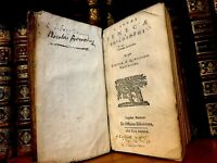 1639 PHILOSOPHY OF SENECA Epistoles, Natural Questions