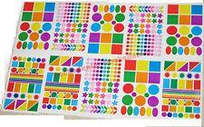 540 Adesivi Colorati Fantasia Scrapbooking Set Assortimento Adesivo Promo