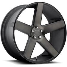 "Dub S116 Baller 24x10 6x135 +31mm Black/Machined/Tint Wheel Rim 24"" Inch"