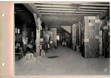 Vintage 1930s  B&W Photo West Bend WI Cannery Warehouse view 2