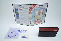 Sega Master System *Asterix* OVP Anleitung