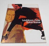 1970 Notre Dame - Louisiana State Football Program