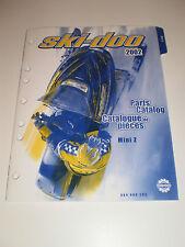 SKIDOO  PARTS CATALOG  MANUAL 2002 MINI Z