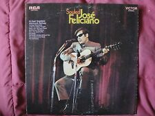 """JOSE FELICIANO """"SOULED"""" VINYL LP 1968 RCA VICTOR LSP-4045, STEREO EX"""