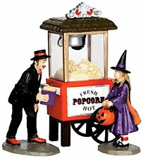 Spooky Town Halloween Popcorn Treats, Set of 3~Little Witch in Costume!