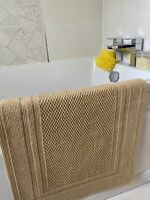 Christy Fina Bath Mat 50x80cm Sandstone Colour