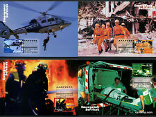 1997 Emergency Services Maxi Cards Prepaid Postcard Maxicards Stamps