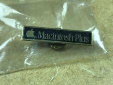 MINT PIN: Apple Macintosh Plus - in Original Bag (from dealership - no copy)