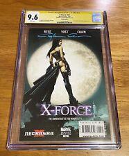 X-Force #23 CGC 9.6 SS Clayton Crain Variant Signed Underworld homage Beckinsale