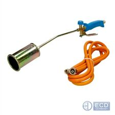 Propane butane gas gun torch burner gas blow roofing 3m hose regulator 70mm set