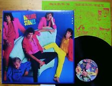 The Rolling Stones Dirty Work NL 1986 + OIS mit Comic + Texte CBS 86321 TOP Mint