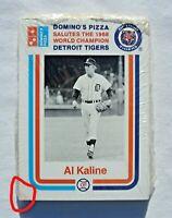 1968 Detroit Tigers Baseball Card Team Set, 1988 Domino's Factory Sealed