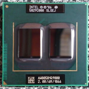 Intel Core 2 Quad Q9000 SLGEJ 2.0GHz-6M-1066MHz Socket P Laptops CPU Processorr