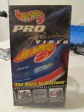 Hot Wheels Pro Racing Video The Race to Daytona VHS Documentary from 1997