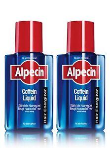 Alpecin Coffein Liquid, Hair Energizer Doppelpack (2x 200ml)
