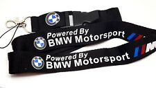 BMW Power Car Logo Lanyard Keyring Strong Neck Key Strap High Quality [LYD2]