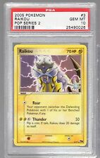 2005 POP SERIES 2 3 Raikou PSA 10 (1 OF 6)