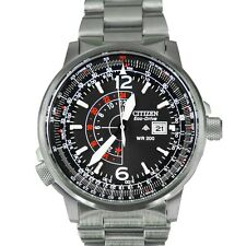 Citizen Men's BJ7000-52E Nighthawk Stainless Steel Eco-Drive Watch by Citizen $
