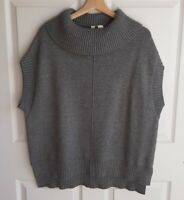 Moth Anthropologie Womens Oversized Turtleneck Poncho Pullover Sweater Size XS