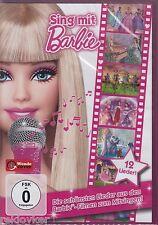 Barbie / Sing mit Barbie - Die schönsten Lieder zum Mitsingen (DVD, NEU!)