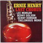 ERNIE HENRY: Last Chorus w/ Lee Morgan, Kenny Dorham RIVERSIDE Jazz Japan LP NM-