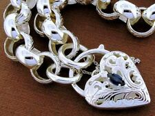 Chain Natural Sterling Silver Fine Bracelets