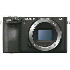 Sony ILCE-6500 a6500 4K Mirrorless Camera Body w/ APS-C Sensor (Black)