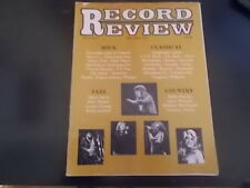 Bad Company, Quicksilver Messenger Service - Record Review Magazine 1977