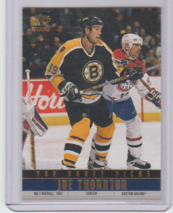 2001-02 Pacific Top Draft Picks Joe Thornton #4 Boston Bruins