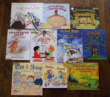 Lot 10 Jewish Picture Books The PJ Library Hannukah Holidays