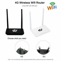 4G Wireless Wifi Router LTE 300Mbps Mobile MiFi Hotspot with SIM Card Slot card